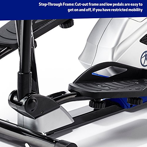 Marcy-Azure-EL1016-Elliptical-Cross-Trainer-BlackWhiteBlue-One-Size