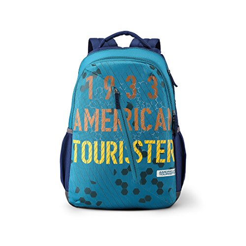 American Tourister Dune 29 Ltrs Blue Casual Backpack (Fi1 (0) 01 001