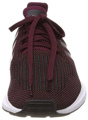 adidas Swift Run, Scarpe da Ginnastica Basse Uomo Rosso (Maroon/core Black/footwear White 0)