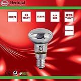 Bulk Hardware BH00558 SES R39 Reflector Lamp, 25 W - Pack of 5 Bild 2