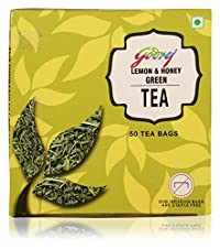 Godrej Lemon & Honey Green Tea, 75 Grams (50 Tea Bags)