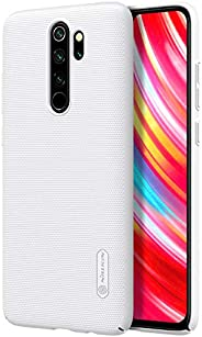 for Xiaomi Redmi Note 8 Pro Case,Nillkin Frosted Shield Anti Fingerprints Hard Cases Back Cover for Xiaomi Red