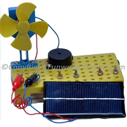 Funwood Games Funwood Games Students Do It Yourself Solar Kit Educational Set For School Projects
