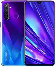 Realme 5 Pro Smartphone, 128GB, 4GB - Sparkling Blue [Amazon Exclusive]