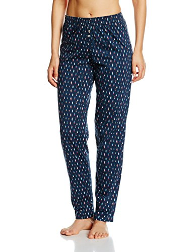 Arthur Damen Langarmshirt Pantalon Jersey Emma Blau - Blau (Tintenblau)