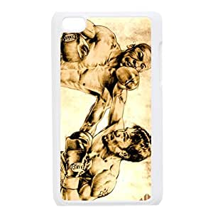 Manny Pacquiao The Amazing Boxer at a Battle Personalized Apple iPod Touch 4 Hard case cover
