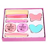 Aolvo nail art Tools kit 11in 1per manicure, nail file buffer blocco lucidante lima per unghie spazzola di pulizia set con scatola