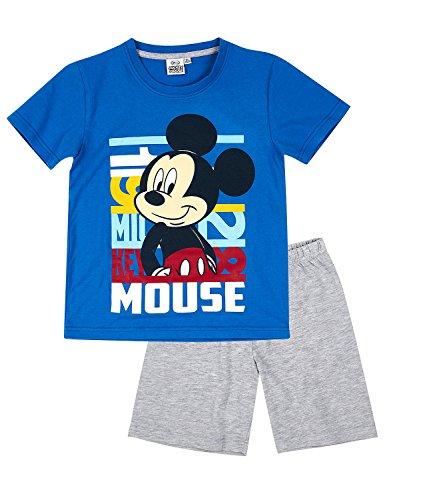 Disney Mickey Chicos Pijama mangas cortas – Azul