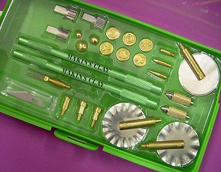 Makin 's Clay Profi Typ B Werkzeug Set, Set 1, mehrfarbig