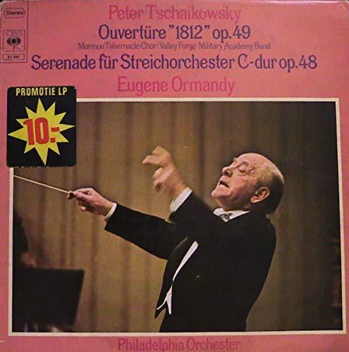 Ouvertüre '1812' Op.49 / Serenade Für Streichorchester C-Dur Op.48 [Vinyl LP] Valley Forge Music