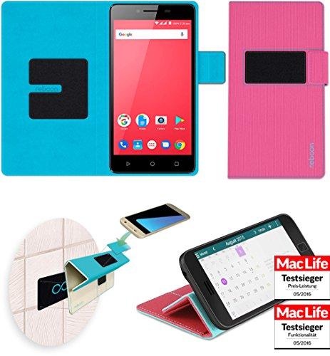 reboon Hülle für Panasonic P95 Tasche Cover Case Bumper   Pink   Testsieger
