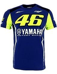 Valentino Rossi VR46 Moto GP M1 Yamaha Factory Racing Team Camiseta Oficial 2017