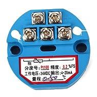 DN RTD PT100 trasmettitore sensori di temperatura da 0 a 50 ° CC 24V di plastica blu