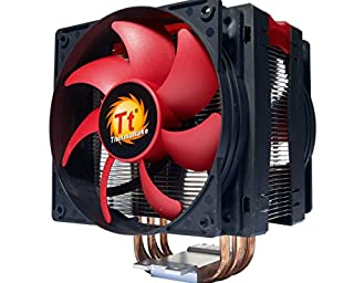 Thermaltake Frio Advanced Universal Intel/AMD CPU Cooler 2x13CM OC PWM Fan 230W (B006DKH1SA) | Amazon price tracker / tracking, Amazon price history charts, Amazon price watches, Amazon price drop alerts