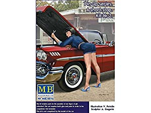 Master Box mb24016 - Figuras de Pin Up Series.A Short Stop Kit No. 2