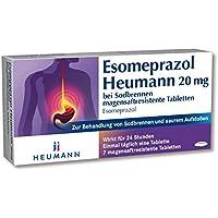 Esomeprazol Heumann 20 mg, 7 St. Tabletten preisvergleich bei billige-tabletten.eu