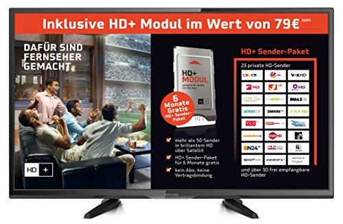 Dyon Enter 32 Pro HD+ Edition 80 cm (31,5 Zoll) Fernseher (Triple Tuner, inkl. HD+ Modul) schwarz