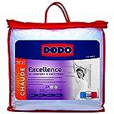Dodo Excellence Couette 140 x 200 cm Chaude Synthétique Anti-Acariens + Anti-Taches + Anti-Bactériens + Anti-Fongique