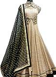 Sanjana Collection Women's Bhagalpuri Le...