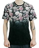 Primitive Apparel Rose Noir Mens Pocket T-Shirt Black Multi