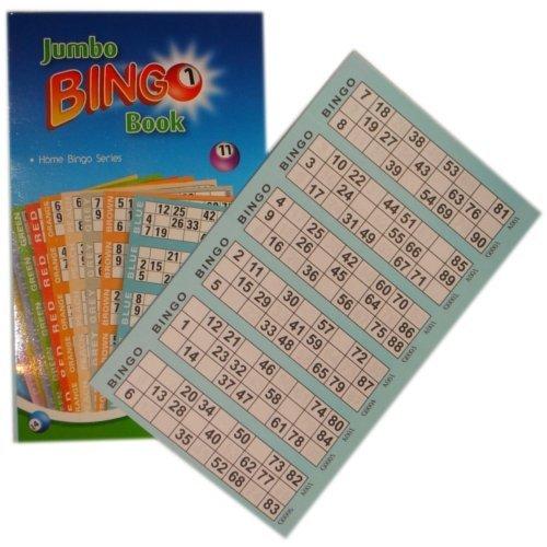 "Anker International Stationäre\""2,5-1.219,2cm Bingo Ticket Book"