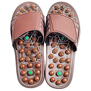 Ctej Jade Massage Schuhe Sandalen Mnner Und Damen Schuhe Haus Hausschuhe Fitness Schuhe Jade Farbmuster Frdern Durchblutung Ermdung Entlastenbrowns