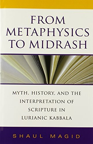 From Metaphysics to Midrash: Myth, History, and the Interpretation of Scripture in Lurianic Kabbala (Indiana Studies in Biblical Literature) by Magid, Shaul (2008) Hardcover