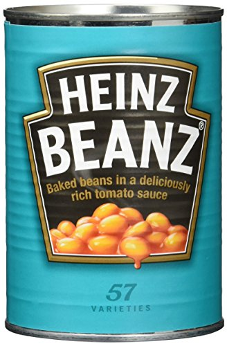 Preisvergleich Produktbild Heinz Baked Beans,  Dose,  6er Pack (6 x 415 g)