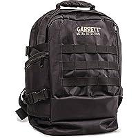 Garrett Daypack Bolsa Mochila Negra Para Metal Detector Puerta objetos negro p/n 1627200