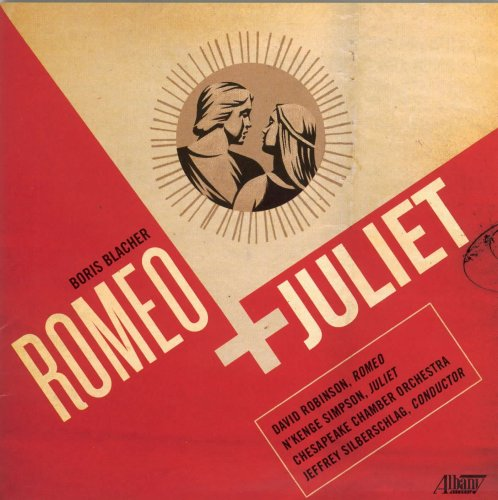 Blacher : Romeo & Juliet. Silberschlag.