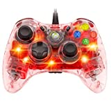 Afterglow Wired Controller for Xbox 360 - Red Color: Red Portable Consumer Electronic Gadget Shop