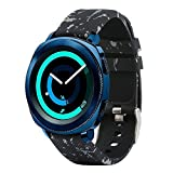 Fit-power – Smartwatch-Ersatzarmband, 20 mm, für Samsung Gear Sport / Samsung Gear S2 Classic / Huawei Watch 2 Watch / Garmin Vivoactive 3 / Garmin Vivomove HR, Design002