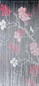 Vorhang / Deko Vorhang Conacord Kirschblüte Bambusstäbchen Länge 200cm