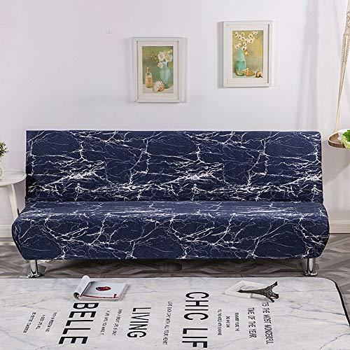 KongEU Funda de sofá sin Brazos de Terciopelo, elástica, para sofá o...