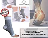 Lumino Cielo All-Day Compression Socks For Plantar Fasciitis Pain Relief & Ankle Support