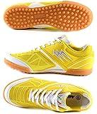 AGLA PROFESSIONAL FANTHOM PRIME OUTDOOR scarpe calcetto futsal (42, YELLOW/WHITE)
