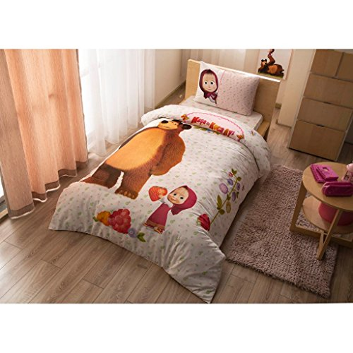 masha-and-the-bear-bedding-duvet-cover-set-new-licensed-100-cotton-masha-and-the-bear-kids-twin-size