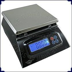 Bilancia da cucina multiuso, 7 kg/1 g, ideale per alimenti, mense, pizzerie, panetterie, ecc.