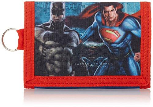 Kinder-portemonnaies Batman (Kids Euroswan Münzbörse, blau (blau) - 889071)