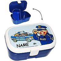 Preisvergleich für alles-meine.de GmbH Lunchbox / Brotdose - Polizei Auto & Polizist - mit Extra Einsatz / Heraus..