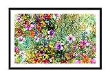 ARTTOR Bild im schwarzen Holzrahmen - Bild im Rahmen - Bild auf Leinwand - Leinwandbilder - Breite: 120cm, Höhe: 80cm - Bildnummer 3842 - zum Aufhängen bereit - Bilder - Kunstdruck - F1BAA120x80-3842