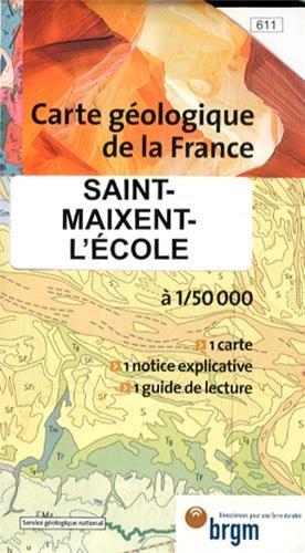 Saint-Maixent-l'Ecole : 1/50 000