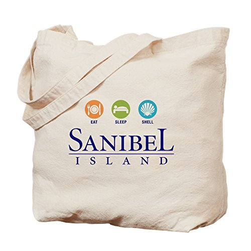 CafePress-eat-sleep-shell --Leinwand Natur Tasche, Reinigungstuch Einkaufstasche Tote S khaki