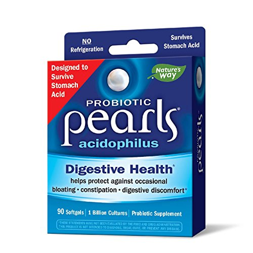 Perlen 90 Kapseln (Enzymatic Therapy Acidophilus Pearls Probiotikum 90 Perlen)