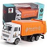 LQUIDE Kinderspielzeug kinderspielzeug trägheit Legierung Auto, Bagger Feuerwehrauto Mixer Auto Engineering Auto Anzug, Hygiene