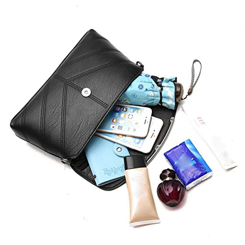 LAIDAYE Ms. Messenger Bag Umhängetasche Kleines Quadratisches Paket Umhängetasche 5