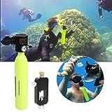 Scuba Oxygen Cylinder Diving Set mit Sauerstoffflasche Hochdruckluftpumpe Scuba Tank Refill Adapter...