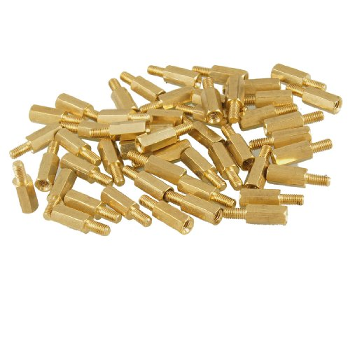 sourcingmap-a12092200ux0091-50-piezas-de-tornillos-separadores-de-laton-separadores-hexagonales-m3-m