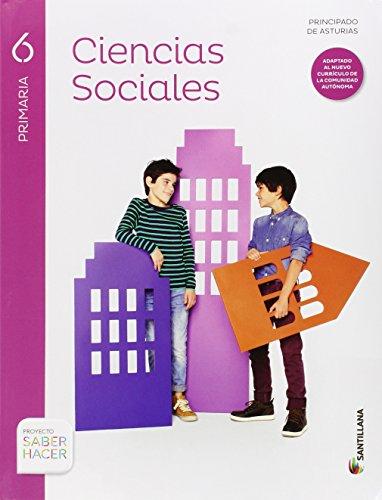 CIENCIAS SOCIALES ASTURIAS 6 PRIMARIA - 9788468031026
