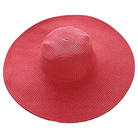 Hats, Ladies, Summer Sun Hats, Beach Hats, Holiday Caps, Sun Hats,Watermelon Red (Baby In Watermelon Kostüm)